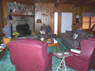 Photo for Beautiful, Private, Quiet Cabin in Eureka Springs - Sleeps 8