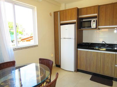 Photo for Code 170C Apt in the Bombinhas Center for up to 4 people Residencial Vitoria da Praia