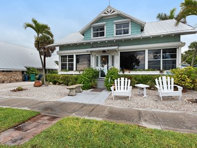 Photo for Oceanfront dog-friendly home w/private pool & ocean view - right on the beach!