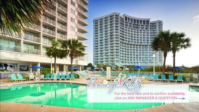 Photo for Gorgeous Oceanfront Resort. Two bedroom! Book now! Over 400 Reviews!