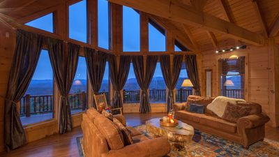 Photo for Endless Mountain Views 4 to 6 Bedrooms-10 Mins to Blue Ridge-Beautiful Outdoor Living