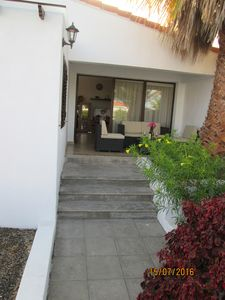 Photo for Apartment Palmera, wonderful, quiet and very close to the beach