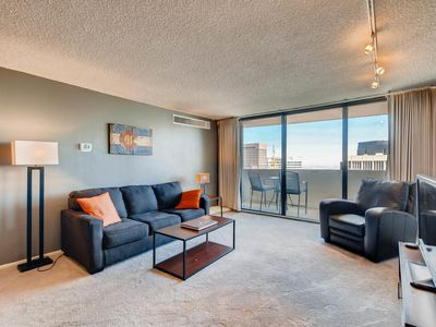 Photo for Furnished 35th Floor Condo In The Heart Of Downtown Denver