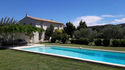 Photo for Between Luberon and Alpilles, Mas campaign of 6500 m² with private pool