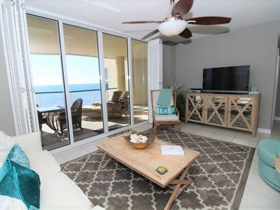 Photo for Beach Colony East Penthouse 15B-Beach Front unit with amazing views!