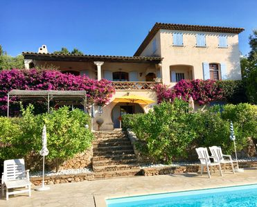Photo for Apartment in big beautiful house in la croix-valmer côte d'azur france