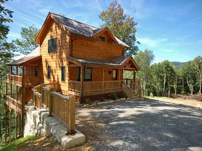 Photo for A Luxury Mountain Chalet Rental in the Heart of the Mountains
