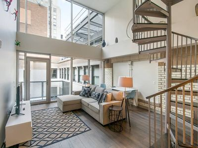 Photo for Charming 3 bedroom Penthouse Home in Center City!