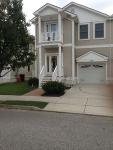 Just 2 short blocks to the voted #1 in NJ Crest Beach and the bay - Small private balcony, off street parking, outside shower and so much more.