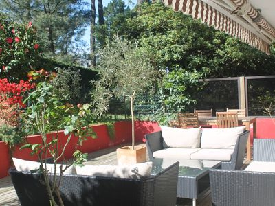 Photo for Quiet and spacious apartment 75m2 with 80m2 terrace +