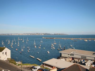 Photo for Stunning cottage in the heart of Brixham with panoramic sea views