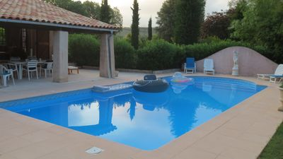 "Photo for Beautiful Provencal Style Villa in private residential ""Domaine"""