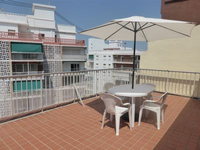 Photo for Penthouse 100 meters from the beach