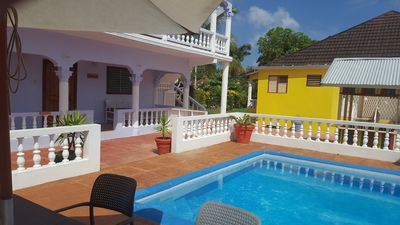 Photo for Tamarind Studio Apartment - Pool, Wi-Fi, Cable TV - Near Ocho Rios and beaches