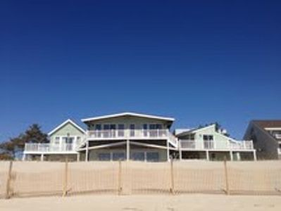 Front View from the beach