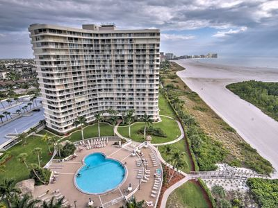 Photo for NEW! Beachfront Marco Island Resort Condo w/ Pool!