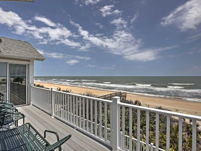 Photo for Oceanfront Palm Coast Home w/ Pool&Hot Tub Access!