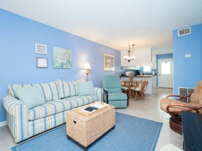 Photo for SUMMER SAVINGS HERE!! GULF SIDE RENOVATED with POOL* 2BR/1BA*