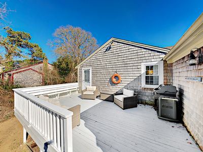 Deck - Spend time together on the large, private deck with ample seating and a grill.