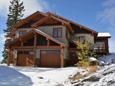 Photo for Premium ski-in/ski-out 3 bedroom, 2 bath home. Located directly on Woodcutter
