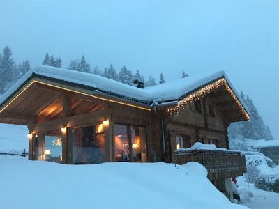 Photo for traditional chalet with large garden and terrace