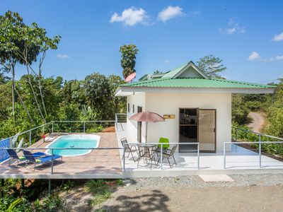 Photo for Toucan Villa - Beautiful Home with a Pool in the Rainforest with WiFi