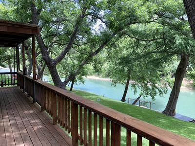 Photo for Little Ponderosa River Retreat- Luxury Guadalupe Riverfront Home!
