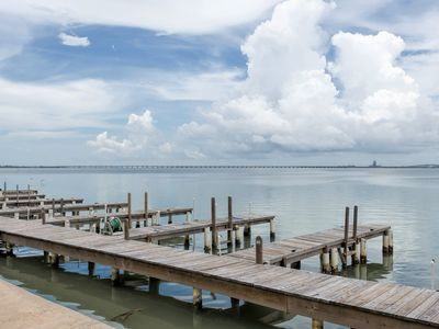 Photo for 2 level townhome w/ boat slip & water view!