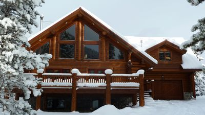 Photo for Log Home In Frisco!  Mountain Views, Hot Tub, Decks, Great Kitchen, WiFi