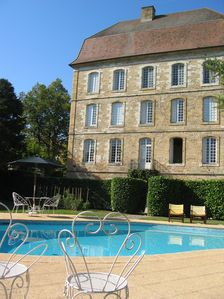 Photo for STUNNING 18TH CENT. CHATEAU. PRIVATE SWIMMING POOL. WIFI. NEAR BERGERAC & SARLAT