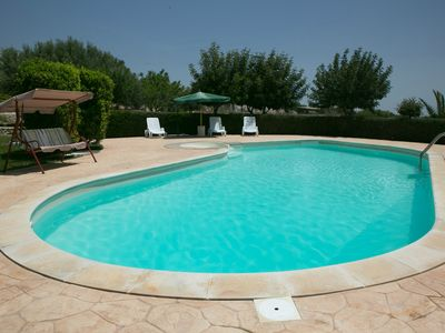 Photo for Exclusive country house for 4 to 8persons with pool. 2 bedrooms. 2 bathrooms