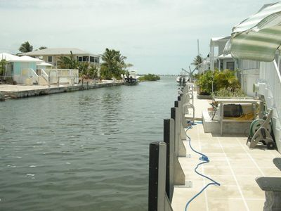 Photo for Venture Out - Waterfront Paradise   2/1, with  35' Dock and open water views!