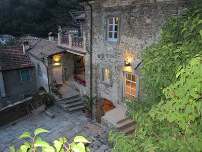 Photo for Charmingly Restored 800 Year Old Tuscan Farm-house With Courtyard & Garden