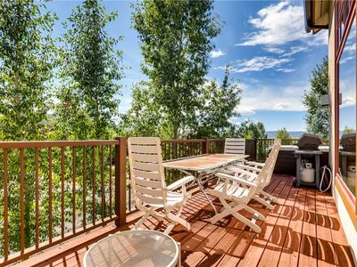 Photo for Beautiful Summer Mountain Townhome w/ Private Deck and Hot Tub
