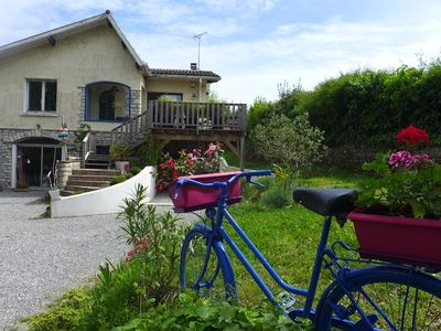 Photo for Family house, near ocean, Landes forest and Basque country