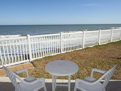 Photo for Direct Oceanfront - Corner Unit - Ground Floor with View