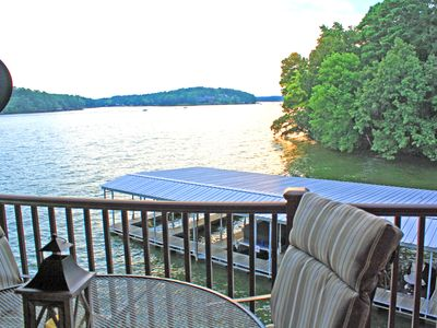 Photo for Beautiful view, great location with access to available boat slip