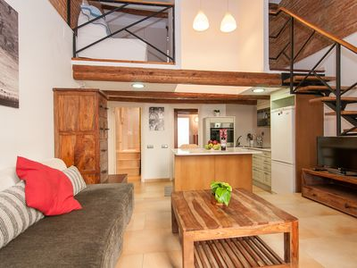 Photo for Bogatell Beach Stylish Loft-5 minute walk to the beach