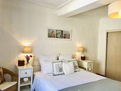 Photo for Fabulous location, balcony overlooking Provencal Market, Old Town Antibes