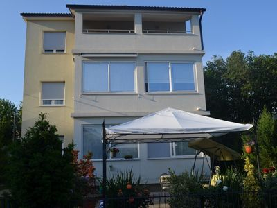 Photo for Two bedroom apartment with terrace Lovran (Opatija)
