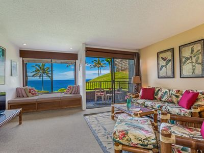 Photo for Sealodge B6-Second floor condo, amazing ocean view, private lanai