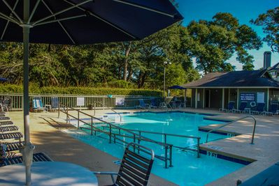 Windermere by the Sea community pool -- located just across from the Brighton.