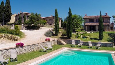 Photo for The Belpoggio Su Todi with private pool, ideal for families - up to 16 guests