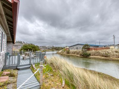 Photo for Home w/river access, close to beach plus deck & shared seasonal pool