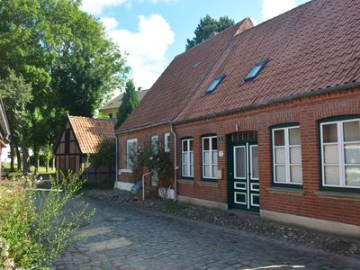 Photo for Old town idyll in the most beautiful alley of Burg: Beautiful apartment with terrace