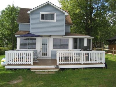 Photo for Nicely Renovated Cottage - Level Beach in a Quiet Setting