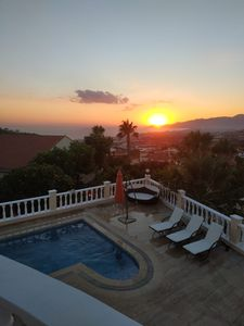 Photo for Fantastic Detached Villa with Private Pool and Sea Views.