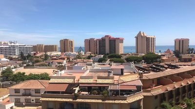 Photo for Fuengirola: central with pool and nice views! 300 meters from the beach