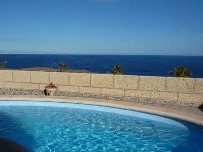 Photo for This 4-bedroom villa for up to 8 guests is located in Arico and has a private swimming pool and Wi-F