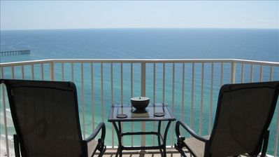 Photo for Penthouse Floor/Corner Unit - Beautiful beach front condo!